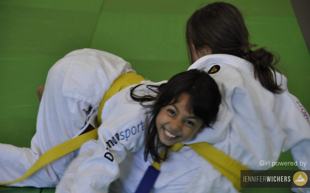 Super geslaagde Girl Power judoclinic!