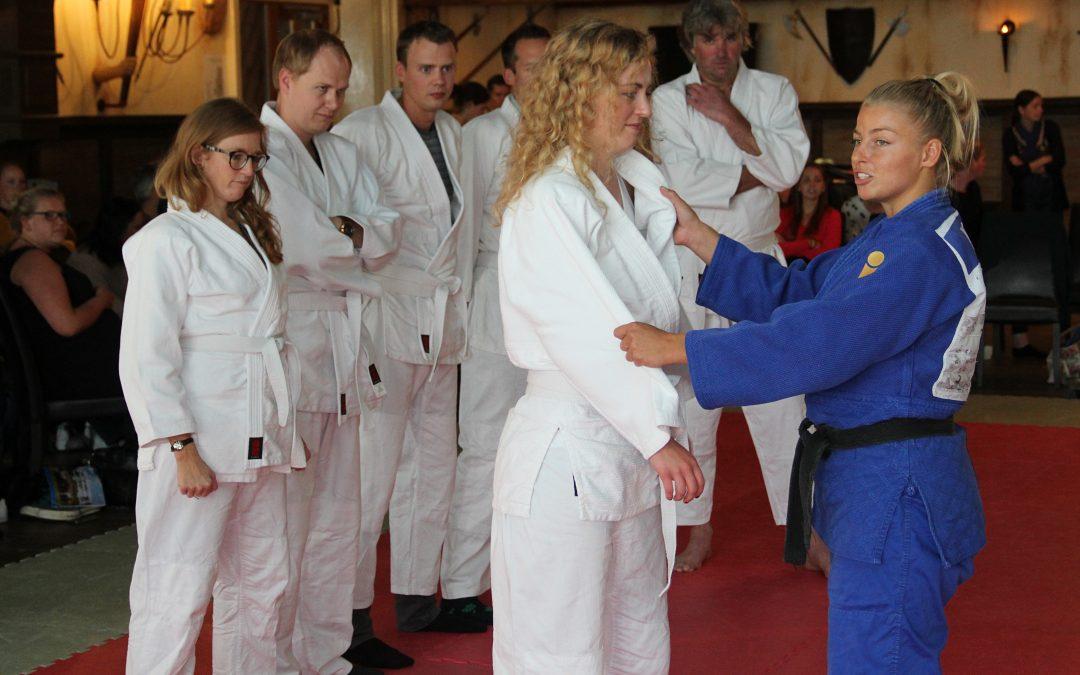 Een betere manager worden met judo? Bij deze voormalige topsporter leer je het.